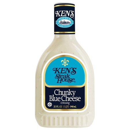 Product of Ken's Steak House Chunky Blue Cheese, 32 oz. [Biz (Best Chunky Blue Cheese Dressing)