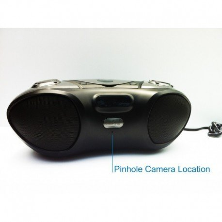 Spy-MAX Covert Video WiFi Functional Boombox Camera Inter...
