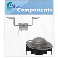 DC96-00887A Thermal Fuse & DC47-00018A Thermostat Replacement for Samsung DV218AEW/XAA-0000 Dryer - Compatible with DC96-00887C Thermal Fuse & DC47-00018A Thermostat - UpStart Components Brand