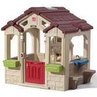 Step2 Charming Cottage Playhouse, Includes Fireplace and Kitchen
