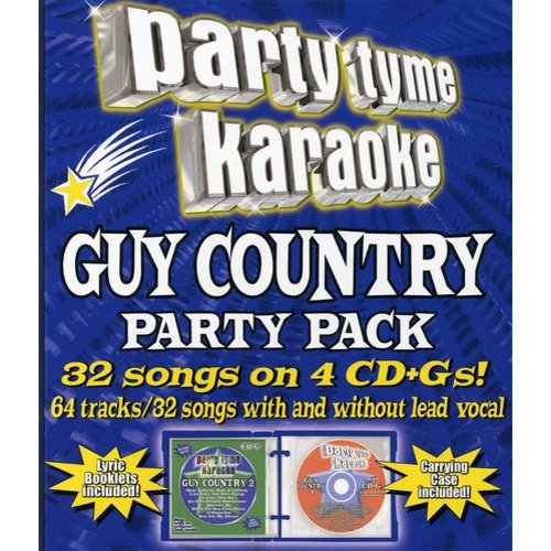 Party Tyme Karaoke: Guy Country Party Pack (4 Disc Box Set)