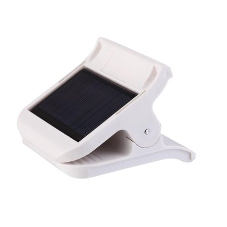 lightahead led portable solar clip light for indoor outdoor use with adjustable brightness. Black Bedroom Furniture Sets. Home Design Ideas