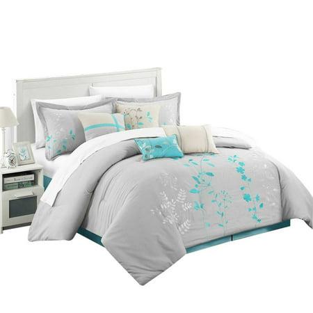 Brooke Bliss Garden 12 Piece Comforter Bed In A Bag