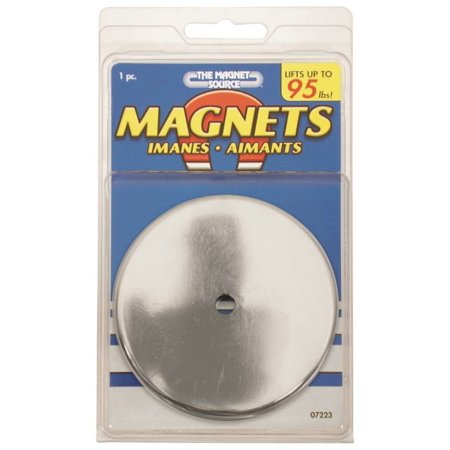 Eyelet Magnet (Master Magnetics 07223 Heavy Duty Round Base Magnet, 95 lb, Ceramic Ring )
