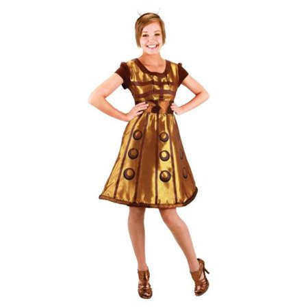 Costumes For All Occasions EL404831 Doctor Who Dalek Dress Lg Xl