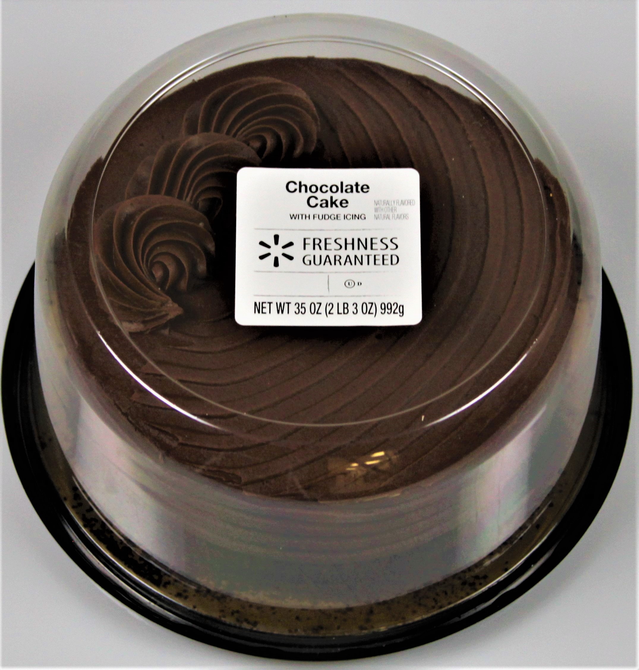 "The Bakery at Walmart 7"" Chocolate Cake With Fudge Icing & Chocolate Shavings, 35 oz"