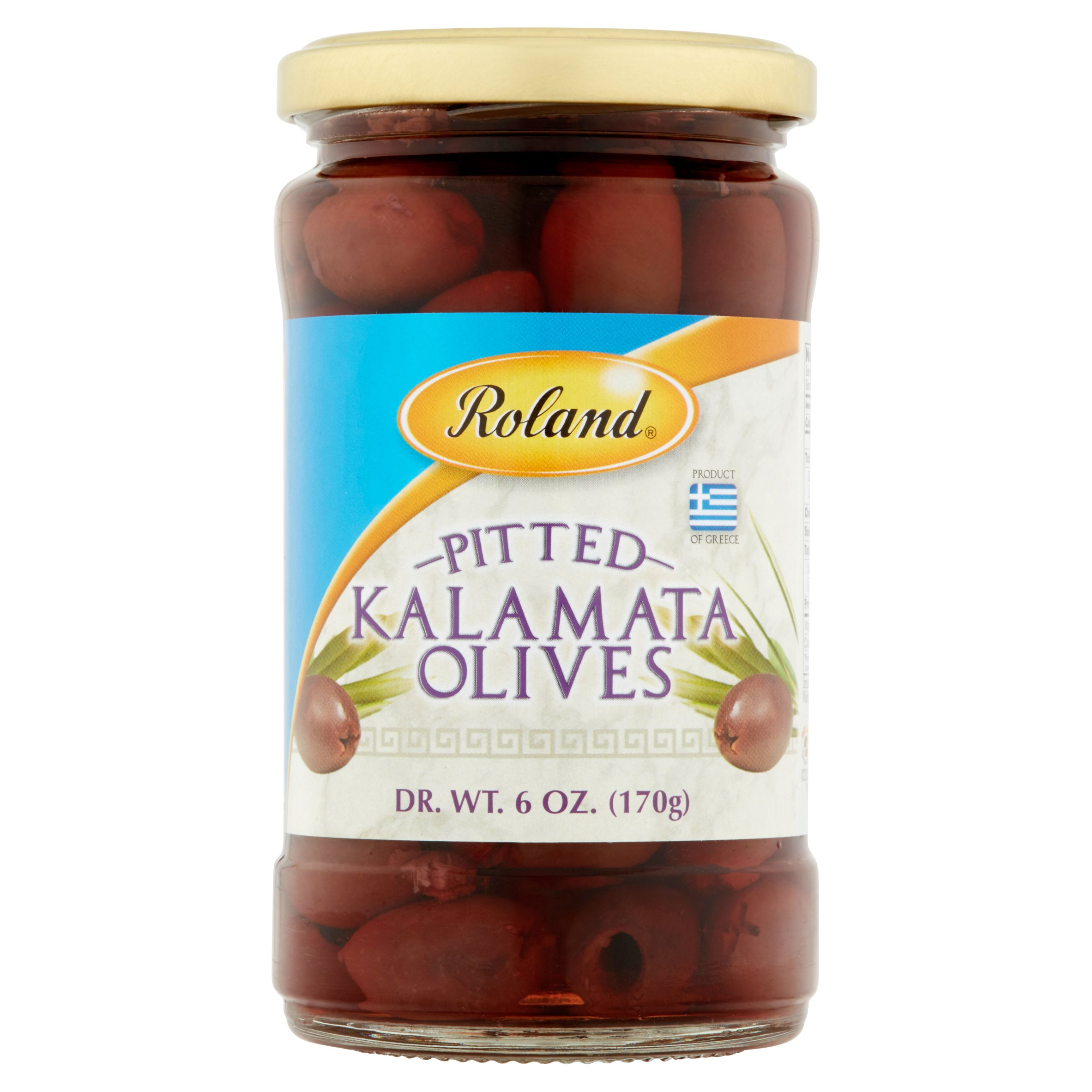 (2 Pack) Roland Pitted Kalamata Olives, 6 Oz