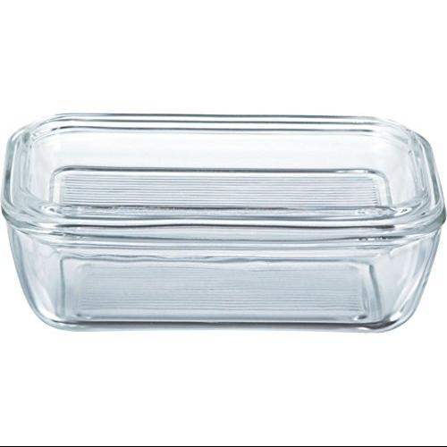 Luminarc Classic Glass Butter Dish with Lid