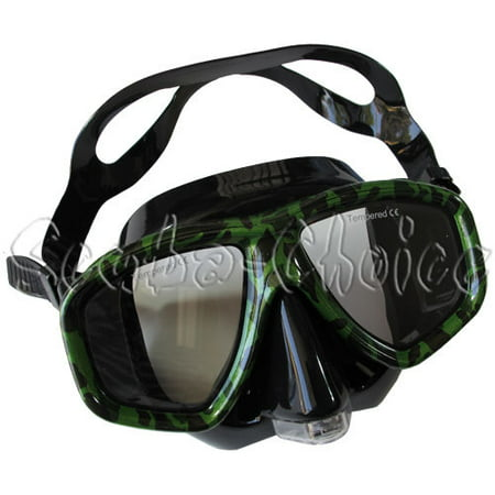Camouflage Dive Purged Mask NEARSIGHTED Prescription RX Optical Lenses - Purge Mask