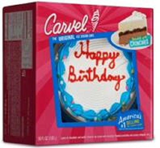 Carvel Celebration Ice Cream Cake, 60 oz - Walmart.com