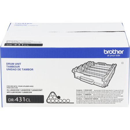Replace Imaging Drum (Brother, BRTDR431CL, DR431CL Imaging Drum, 1 Each )