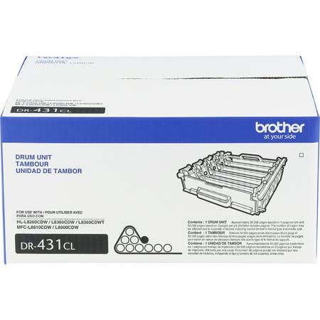 Brother, BRTDR431CL, DR431CL Imaging Drum, 1 Each