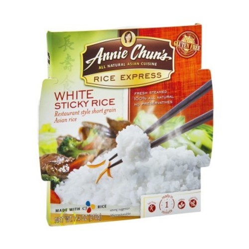 Annie Chun's Rice Express, White Sticky Rice, 7.4 Ounce