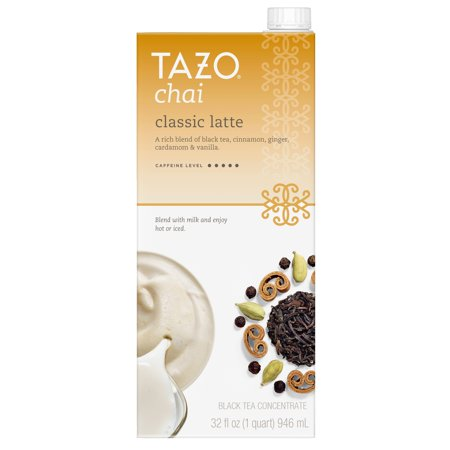 (3 Boxes) Tazo Chai Latte Concentrate Black Tea 32 (Best Pau D Arco Tea)