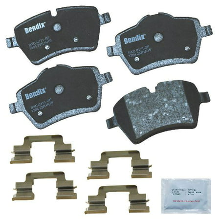 Go-Parts OE Replacement for 2011-2016 Mini Cooper Countryman Front Disc Brake Pad Set for Mini Cooper Countryman (Base / Coupe S / John Cooper Works Clubman / S / S ALL4)