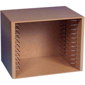 Melissa & Doug Natural Wood Puzzle Storage Case (Holds 12 Puzzles) by Melissa & Doug