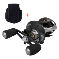 Lixada 10+1 Ball Bearings Baitcasting Reel 6.3:1 Gear Ratio Lightweight Smooth Metal Spool Ice Fishing Reel
