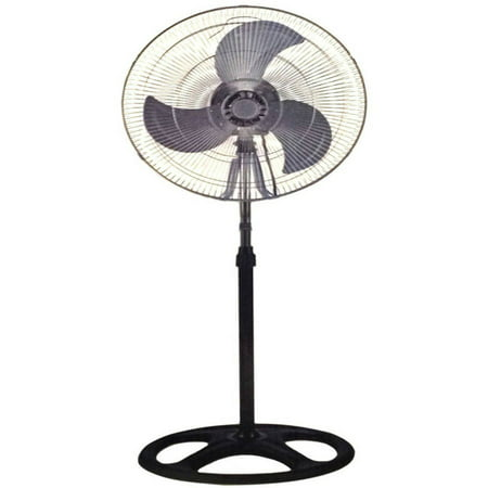 Industrial 18  Floor Stand Mount Shop Commercial High Velocity Oscillating Fan  2 Year Warranty