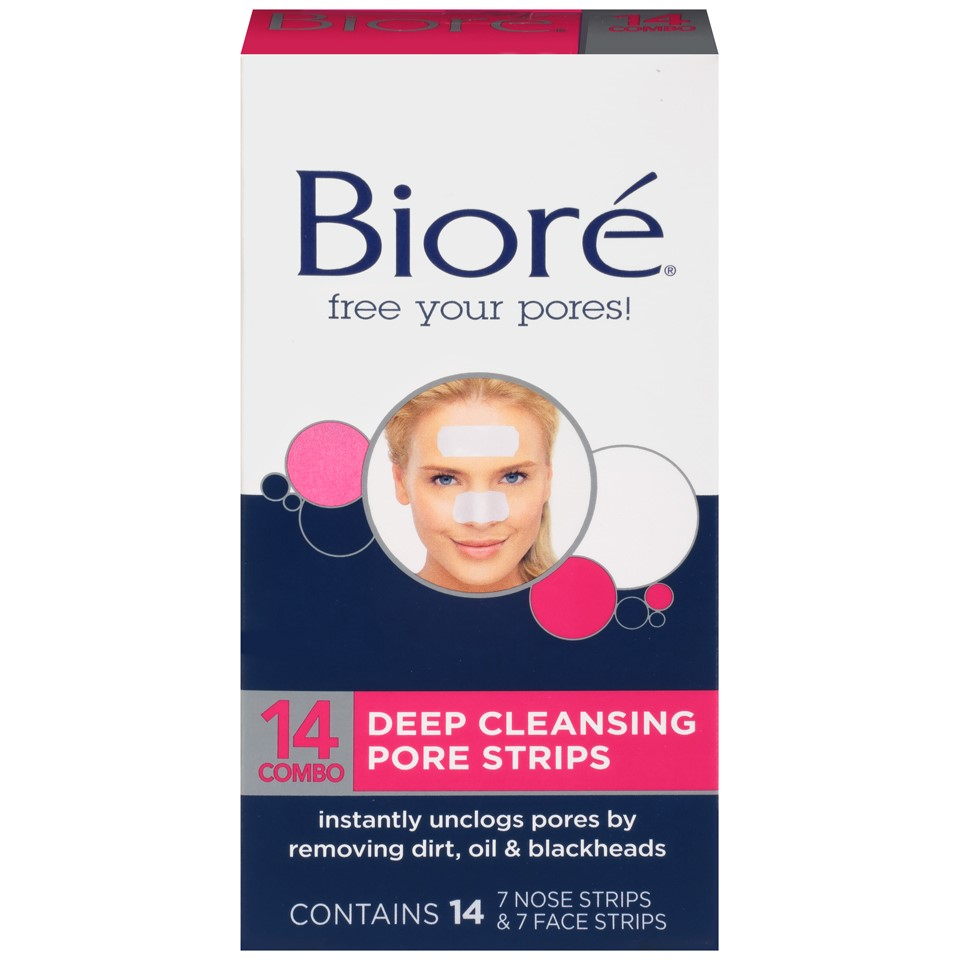 Face & Nose Deep Cleansing Pore Strips, 14 ct