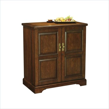 Cherry Hill Wine Bar (Bowery Hill Wine and Bar Cabinet In Americana Cherry Finish )