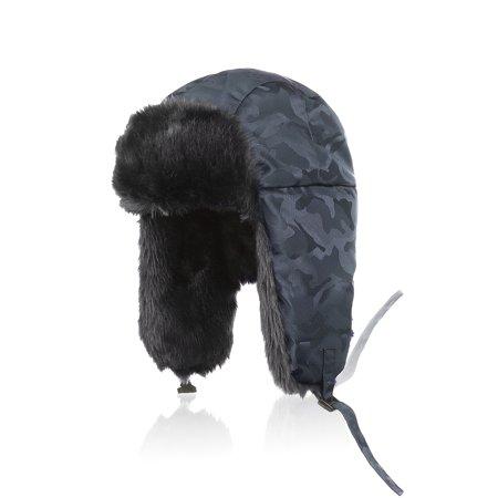 9b21e0af0e3 Winter Trapper Trooper Hat Unisex Ushanka Aviator Russian Hat ...