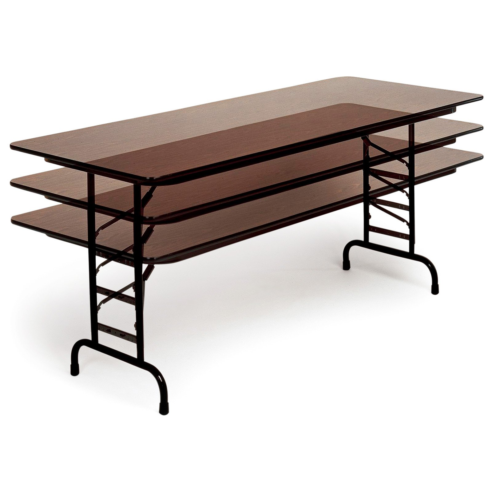 Correll Rectangle 3/4 in. Top Adjustable Folding Table