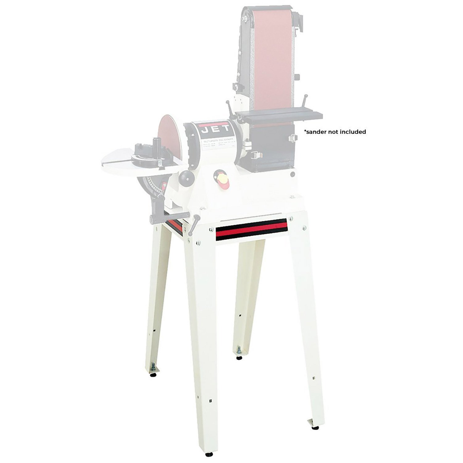 Jet 708596 OS-96 Heavy Duty Open Steel Stand Work Wood Station for Disc Sander by Jet
