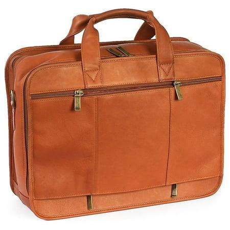 ClaireChase Executive Computer Briefcase - Saddle