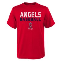 b86f249e5b0 Product Image MLB Los Angeles ANGELS TEE Short Sleeve Boys Team Name and  LOGO 100% Cotton Team