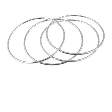 Comedians Magicians Metal Circle Rings Magic Trick Gimmick Silver Tone](Magician Tricks)