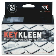 Read Right KeyKleen Cleaning Swabs - Pre-moistened - 24 / Box