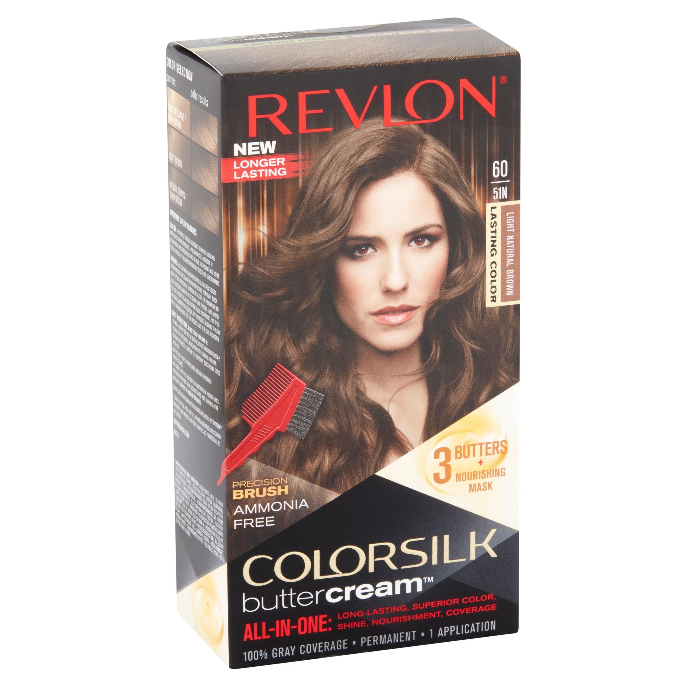 Revlon colorsilk buttercream hair color, 53 medium golden brown - Walmart.com