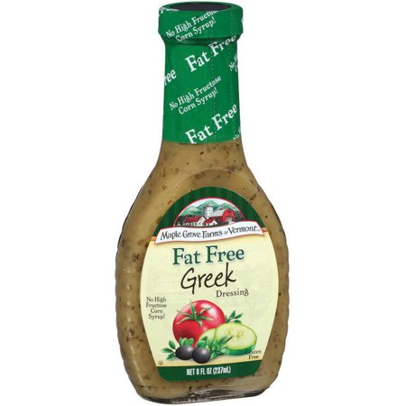 Maple Grove Farms Of Vermont Greek Dressing  8 Oz  Pack Of 6