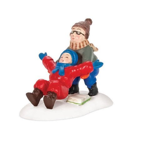 Department 56 A Christmas Story Ralphie To The Rescue 805037