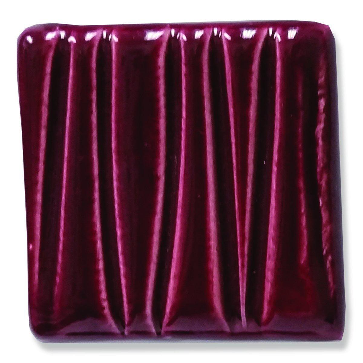 Speedball Art 16 oz. (pint) Earthenware Glaze--Burgundy