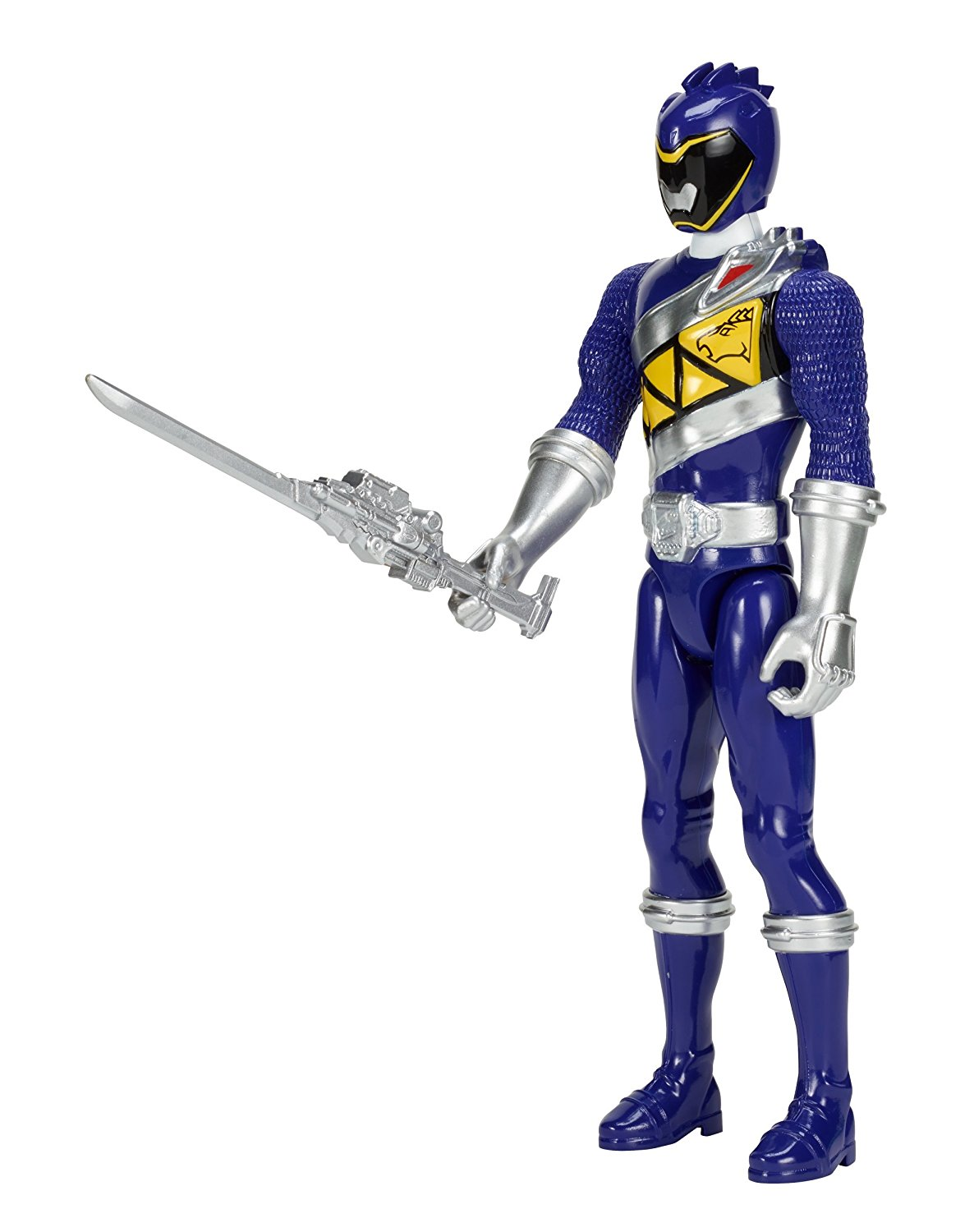 """Dino Charge 12"""" Blue Ranger Action Figure, The Power Rangers Dino Charge Rangers are... by"""