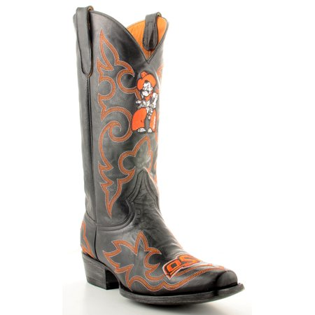 Gameday Boots Mens Leather Oklahoma State Cowboy Boots