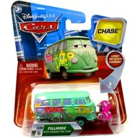 Disney Cars Lenticular Eyes Series 2 Fillmore with Organic Gas Cans Diecast Car