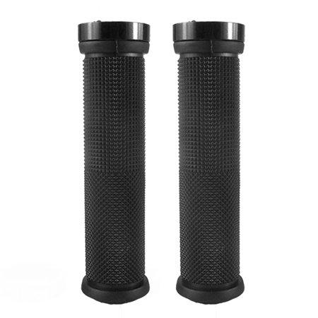 Bike Handlebar Grips 22mm Bicycle Grips Soft Rubber Handlebar Cover End Non-Slip Rubber Grips 22 Mm Soft Rubber