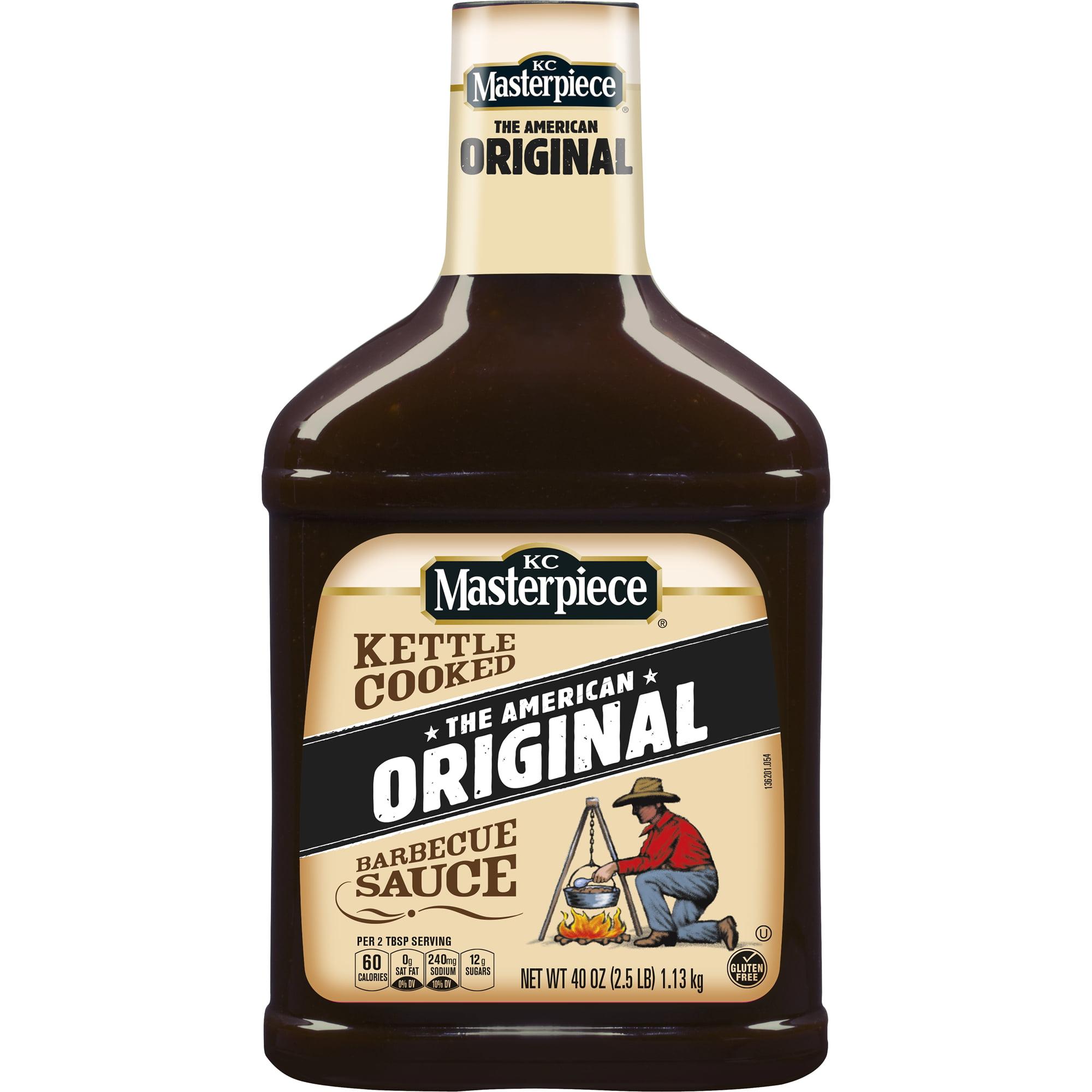 KC Masterpiece Original Barbecue Sauce, 40 oz