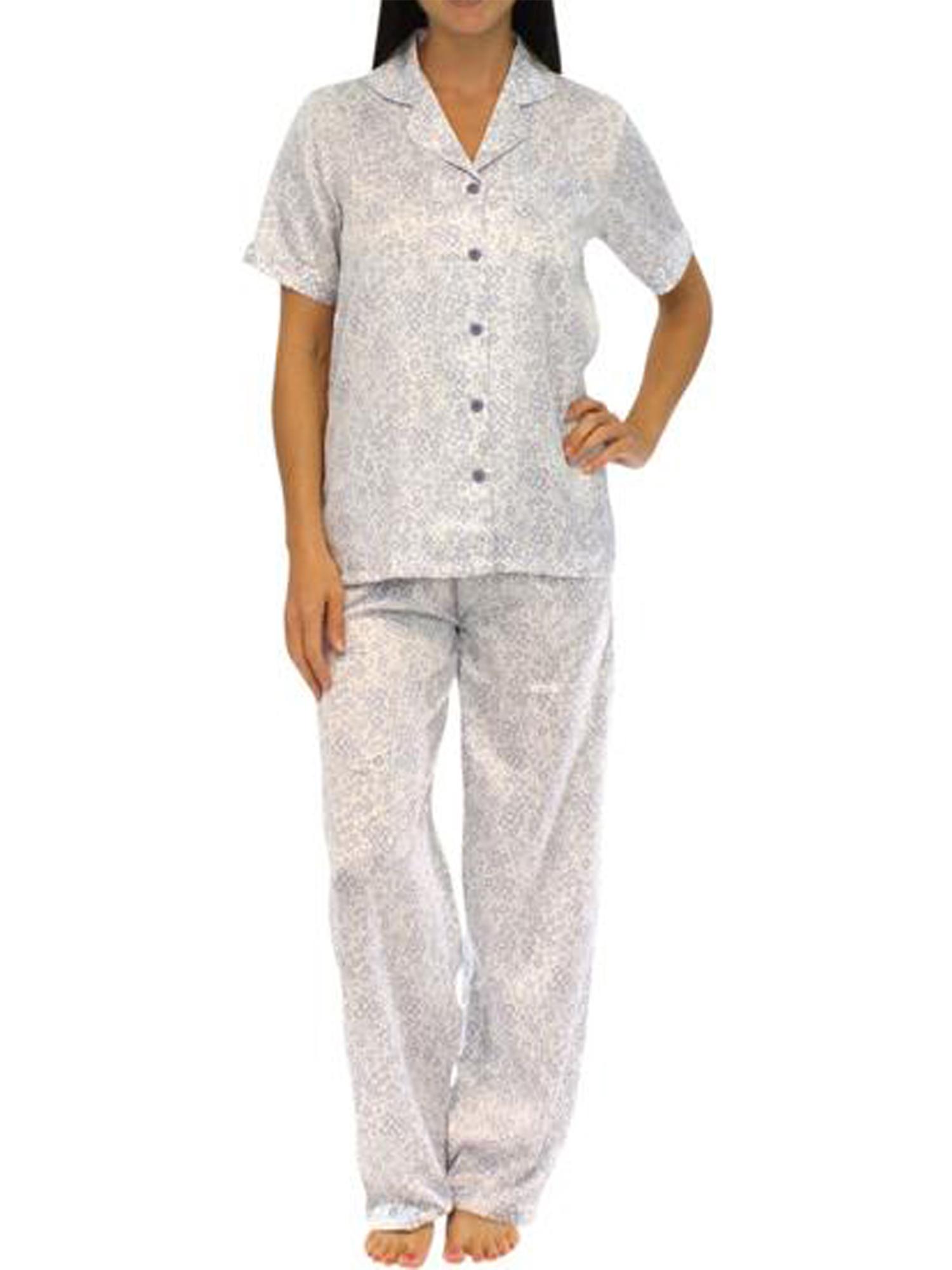 Pajama Heaven Satin Shortsleeve Lounger Pajama