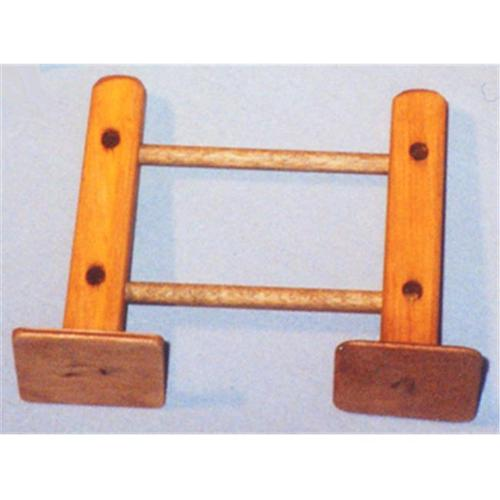 THE PUZZLE-MAN TOYS W-2044 Wooden Play Farm Series - Accessories - Fence Section 4 inch Starter
