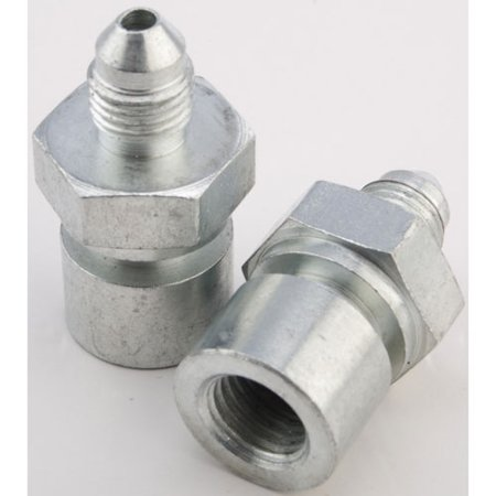 JEGS 100786 AN to Inverted Flare Female Tube Adapter Fittings ()