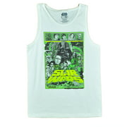 Star Wars First Movie Characters Graphic Epic Hope Mens Adult White Tank XLarge