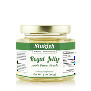 Stakich Fresh Royal Jelly 4 oz (114g) - Pure and Natural
