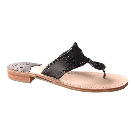 25b48a038cce Jack Rogers - Jack Rogers Women s Navajo Palm Beach Flat Sandals ...
