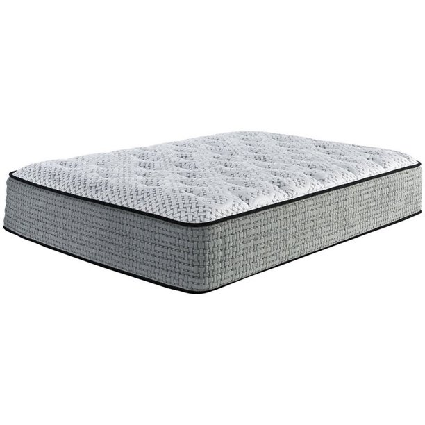 Ashley Furniture Santa Fe 14 Quot Quot Queen Firm Memory Foam Mattress In White And Gray Walmart Com