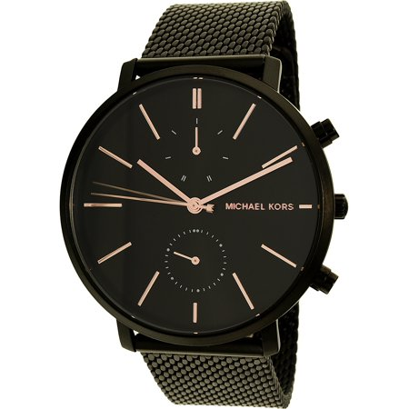 Michael Kors Men's Jaryn Black Stainless Steel Watch, MK8504 (Black Stainless Steel Mens Watch)