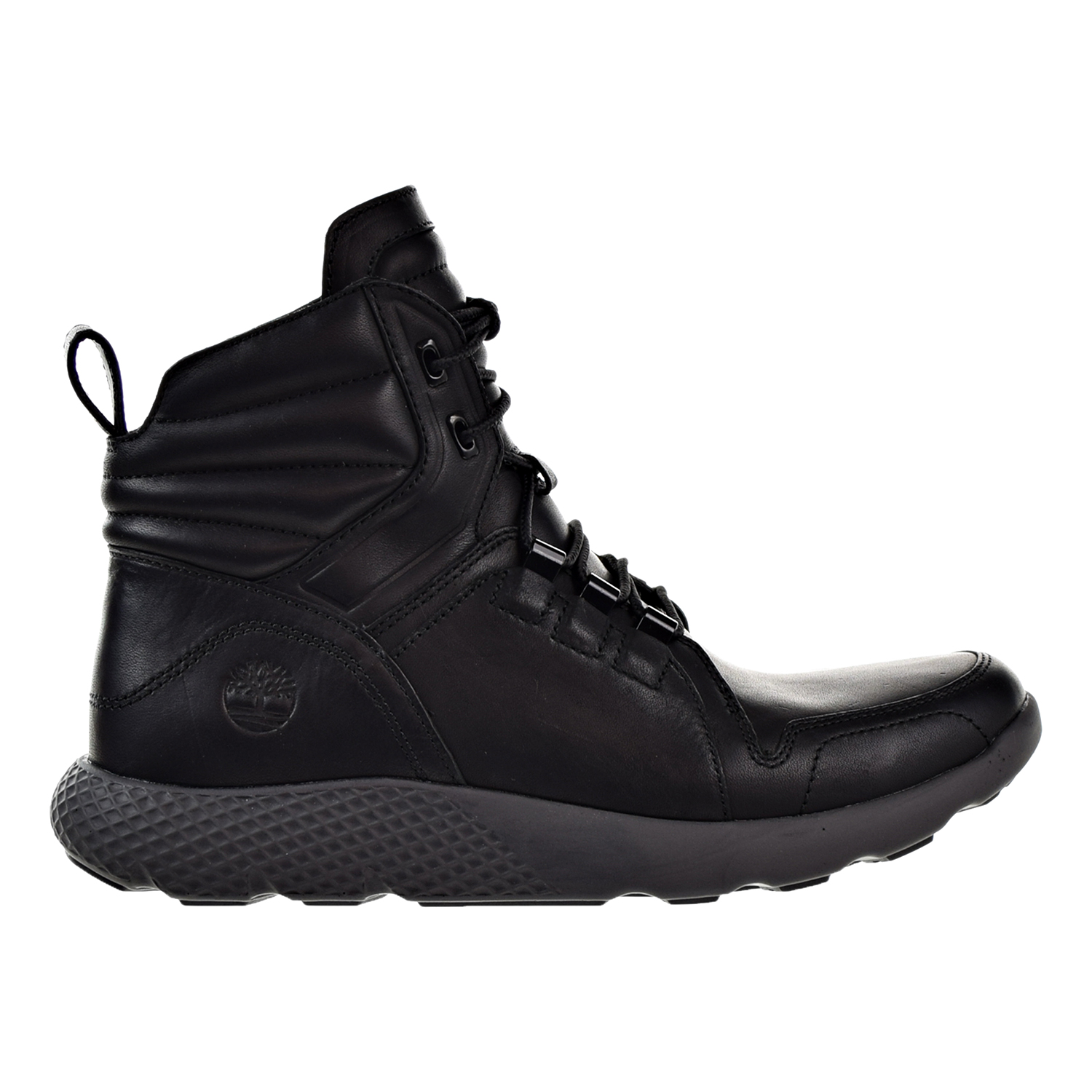 Timberland Flyroam Leather Men's Boots Black tb0a1j1a by Timberland
