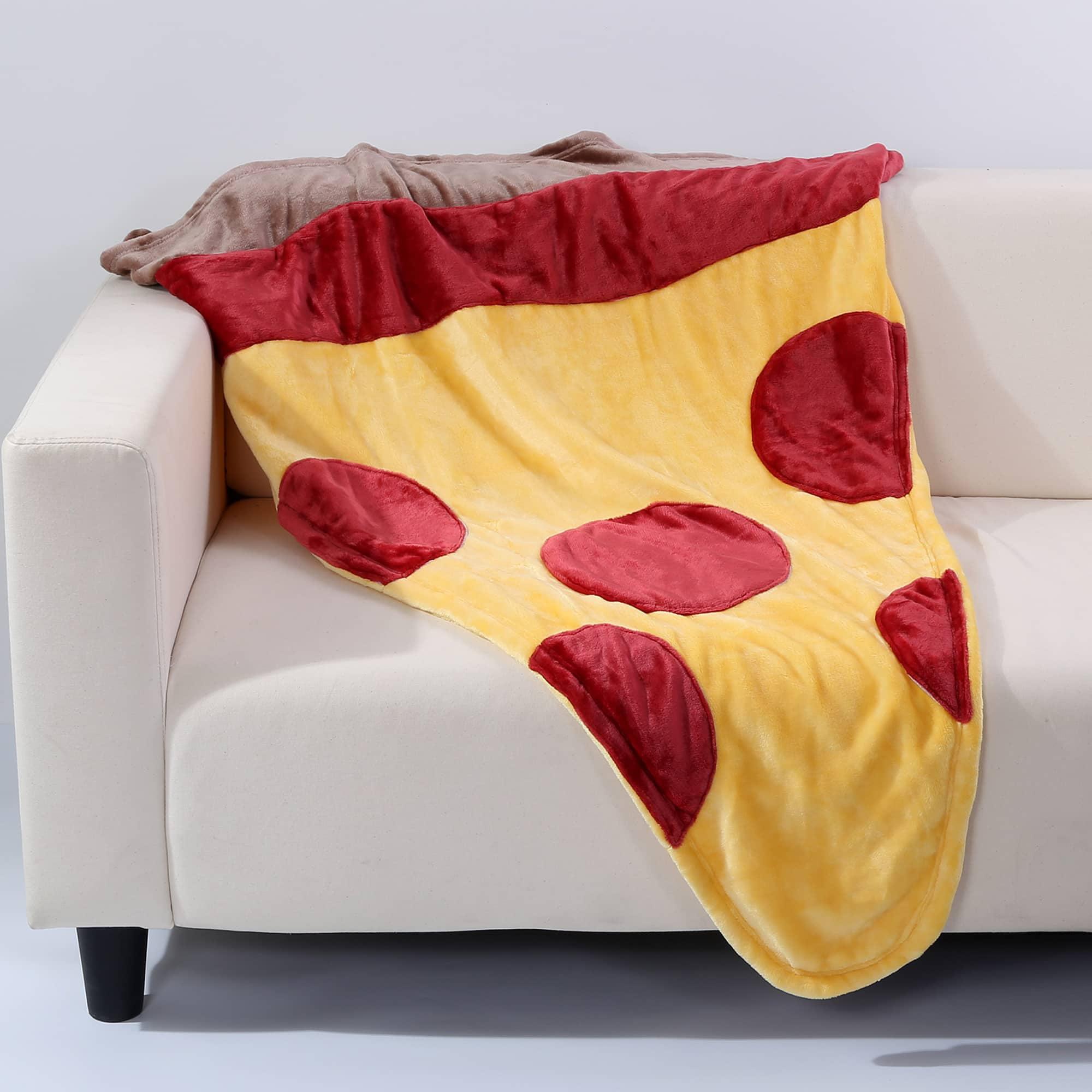 Berkshire Blanket and Home Co Berkshire Blanket Cuddly Buddies Pizza Slice Footie Throw